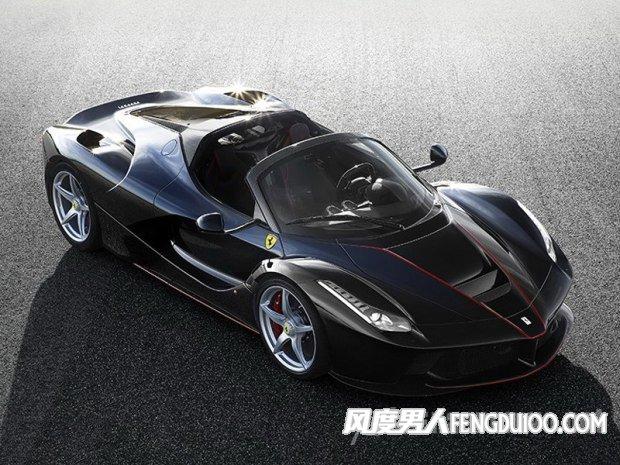 全新的法拉利LaFerrari敞篷版限量499台