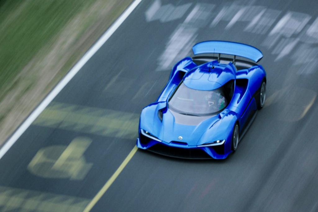 电动超跑最快圈速的 NextEV Nio EP9