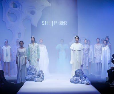 """""""越""""设计,越精绝 SHIJI时集2020春夏系列设计师屠俊发布会"""