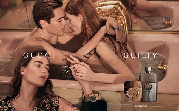 GUCCI 发布最新「罪爱」香水广告大片
