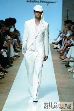 男士白色穿衣7法则