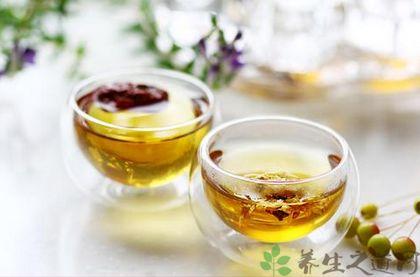 秋季养肝护肝茶配方