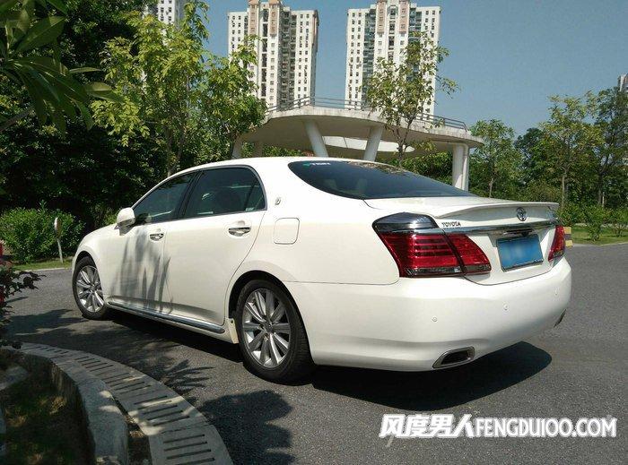 丰田皇冠外观轮毂改装案例  丰田13代皇冠改装